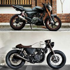 Befor & After from Malaysia Model: Benelli Keeway RKV 200 Tires: Zeus…