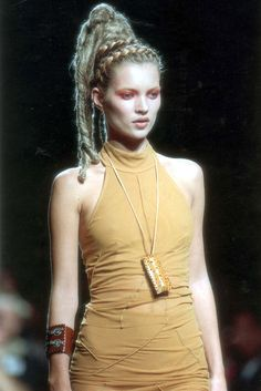 Kate Moss at Jean Paul Gaultier SS 1996
