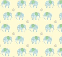 ashleybug elephant fabric