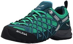 Salewa Womens Wildfire S GTX Technical Approach Shoe CypressRiver Blue 6 M US -- Read more reviews of the product by visiting the link on the image.