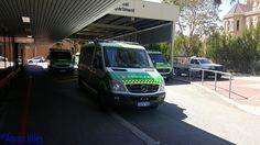 https://flic.kr/p/NRctPe | St John Ambulance WA | Ambulance parked outside Royal Perth Hospital. Perth, WA