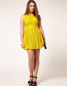 cute dress for a curvey girl