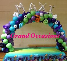 monsters inc balloon decor - Google Search