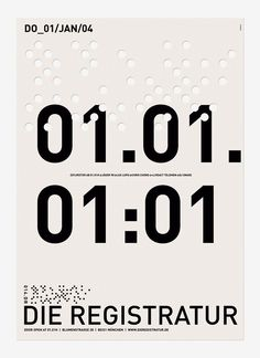 graphic design poster - great typography, love the modern and minimal design!