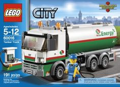 LEGO City Tanker Truck 60016 - http://bit.ly/1LuULO3