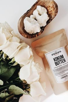 Whipped body butter using Kokum Butter as the star ingredient, the texture is soft and luscious , does not leave greasy residue. Simple to make. Cocoa Butter, Shea Butter, Kokum Butter, Cosmetics Ingredients, Rose Essential Oil, Cold Cream, Whipped Body Butter, Essential Fatty Acids, Butter Recipe