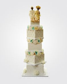 African Wedding Cakes, How To Make Cake, Traditional