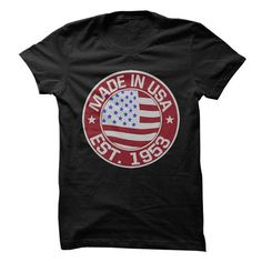 Made In USA, Established 1953 T Shirts, Hoodies. Check price ==► https://www.sunfrog.com/LifeStyle/Made-In-USA-Established-1953.html?41382