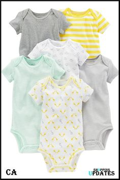 Kinds Of Clothes, Baby Clothes Shops, Babies Clothes, Babies Stuff, Flamingo Suit, Preemie Clothes, Newborn Clothing, Girl Clothing, Yellow