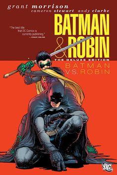 Batman & Robin: Batman vs Robin By:Grant Morrison; Frazer Irving; David Finch;