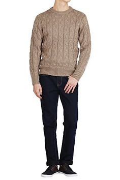Hipsteration Mens Pullover Cable Knitted Sweater Beige, M Hipsteration http://www.amazon.com/dp/B01B4XRL44/ref=cm_sw_r_pi_dp_58nQwb02BNZ0R