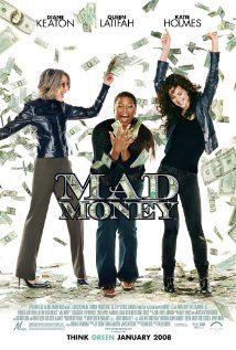 Mad Money Starring: Diane Keaton, Queen Latifah, Katie Holmes and Ted Danson Diane Keaton, Internet Movies, Movies Online, Love Movie, Movie Tv, Movie Club, Movie Scene, Movie List, Mad Money