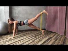 Фитнес дома с резинкой. Какие делать упражнения? - YouTube
