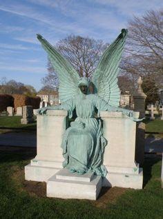 angel in Newport, Rhode Island