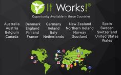 Look at how many countries we are in! Those crazy wraps are booming! Are you in one of these countries and looking to be a distributor? Let's chat! How Many Countries, Become A Distributor, England Ireland, Crazy Wrap Thing, Northern Ireland, Scotland, It Works, Wraps, Let's Chat