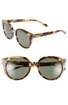 polarized retro sunglasses / tory burch