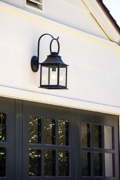 Looking for lighting solution for your garden? Check out these smart garage lighting designs & ideas. Garage Light Fixtures, Exterior Light Fixtures, Outdoor Light Fixtures, Exterior Lighting, Outdoor Garage Lights, Garage Door Lights, Outdoor Lighting, Garage Doors, Exterior Garage Lights