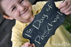 {cherishedbliss.com} Back to School:  Photo Idea #backtoschool