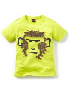 Be a bold little monkey! Tea Collection Bandar-log Graphic Tee shirt for boys. Now available at www.tinysoles.com!