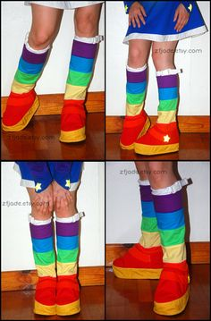 Adult Size Rainbow Brite Inspired Cosplay Costume by zfjADE, $250.00