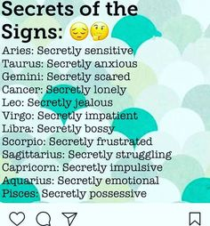 I don't think that's a secret actually... #Scorpio