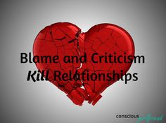 Blame and criticism kill lesbian relationships.