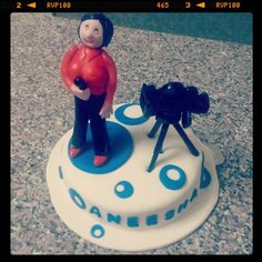 Reporter cake