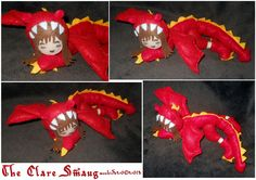 The Clare Smaug by weebird on DeviantArt Smaug Dragon, Sewing Kit, Elf On The Shelf, Deviantart, Holiday Decor