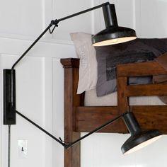 Industrial 2-Head Wall Light