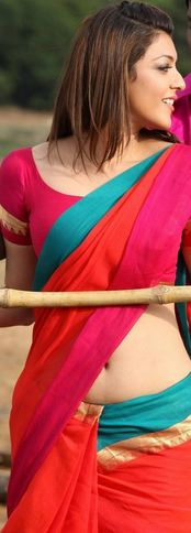 Kajal Agarwal Hot Navel