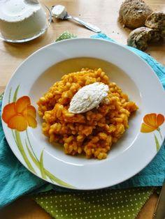 mi cucino un libro: Orzotto alla crema di carote e ricotta