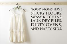 Good moms quote by Stickaroo on hellopretty.co.za