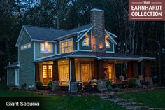 Giant Sequoia home design-Earnhardt Collection by Schumacher Homes America's largest custom home builder