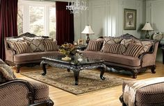 Antique Style Living Room