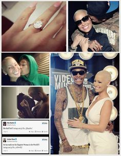 Amber Rose and Wiz Khalifa. Best relationship ever