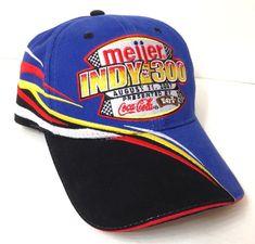 Unworn Vtg 2007 INDY 300 KENTUCKY SPEEDWAY HAT Meijer Coca Cola Racing  Men Women   e0fac4ca35e1