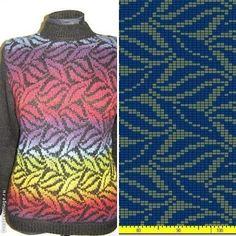 Tons of pattern Tapestry Crochet Patterns, Fair Isle Knitting Patterns, Knitting Machine Patterns, Fair Isle Pattern, Knitting Charts, Sweater Knitting Patterns, Knitting Stitches, Knitting Designs, Knit Patterns