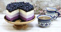 Sernik na zimno z jagodami - Claudia.pl Polish Recipes, Baked Goods, Oreo, Cheesecake, Food And Drink, Pudding, Cookies, Baking, Breakfast