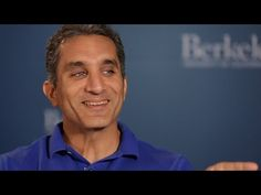 EGYPTIAN ACCENT. Satirist Bassem Youssef is from Cairo, Egypt. ▶ Bassem Youssef Interview at UC Berkeley - YouTube
