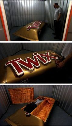 Twix Bar Coffin