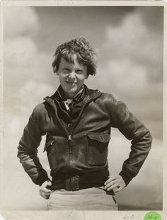 Okay, I know everyone thinks they are a reincarnated famous person.  But this is pininterest -- so I'm saying Amelia Earhart!
