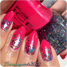 """Sassy Paints: #PureIce """"After Hours"""" & """"Its Complicated from the @Influenster  #vivavixbox"""