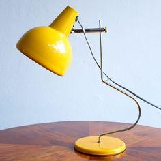 L 193 - 1365 desk lamp by Josef Hůrka for Lidokov, 1960s