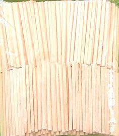 Für Latten am Zaun...Oder als Schindeln für Wand und Dach.