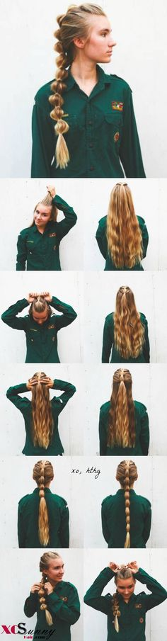 Tail: Viking Hair for the modern lady.