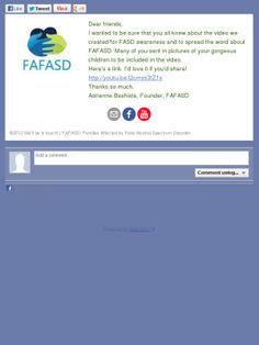 Great video on FASD!