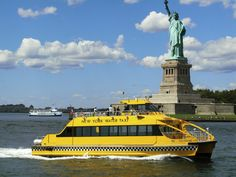 Emmy DE * take a New York Water Taxi