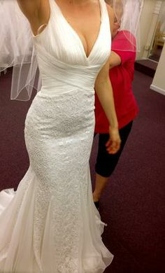 New With Tags San Patrick Wedding Dress Size 4  | Get a designer gown for (much!) less on PreOwnedWeddingDresses.com