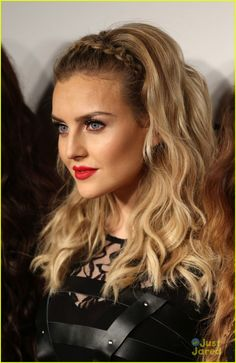 Perrie Edwards. Love her new hair color!
