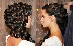 Goddess Hairstyles Entrancing Grecian Goddess Hair Very Pretty Look At The Hair Not The Horrible